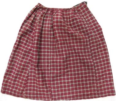 юбка (домоткань, х/б ткань, машинные и ручные швы)