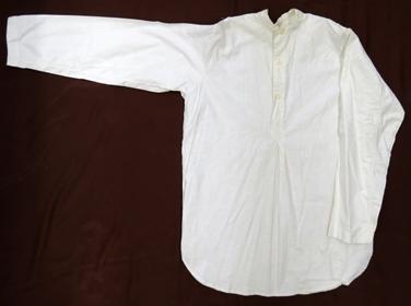 белье нательное (сорочка) (х/б ткань, машинное шитье)